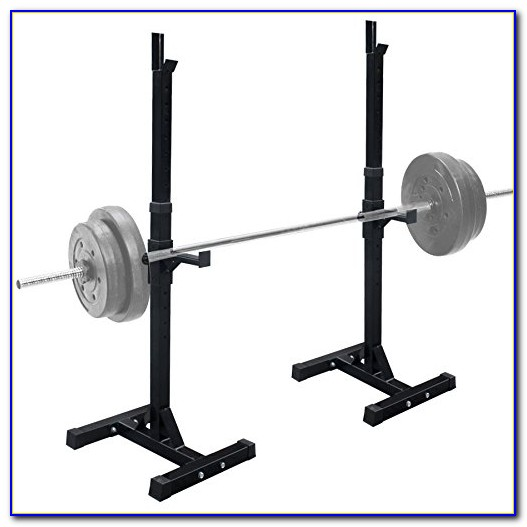Squat Rack Bench Press Weight Lifting Stand