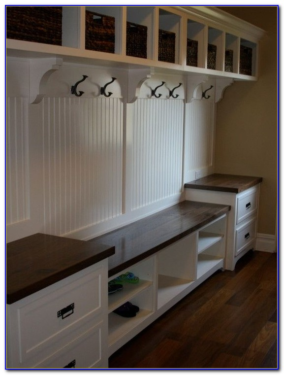 Storage Bench Seat Mudroom