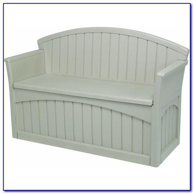 Suncast Outdoor Storage Bench Seat