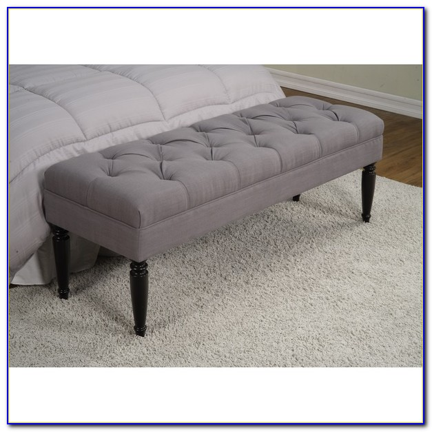 Tufted End Of Bed Storage Bench
