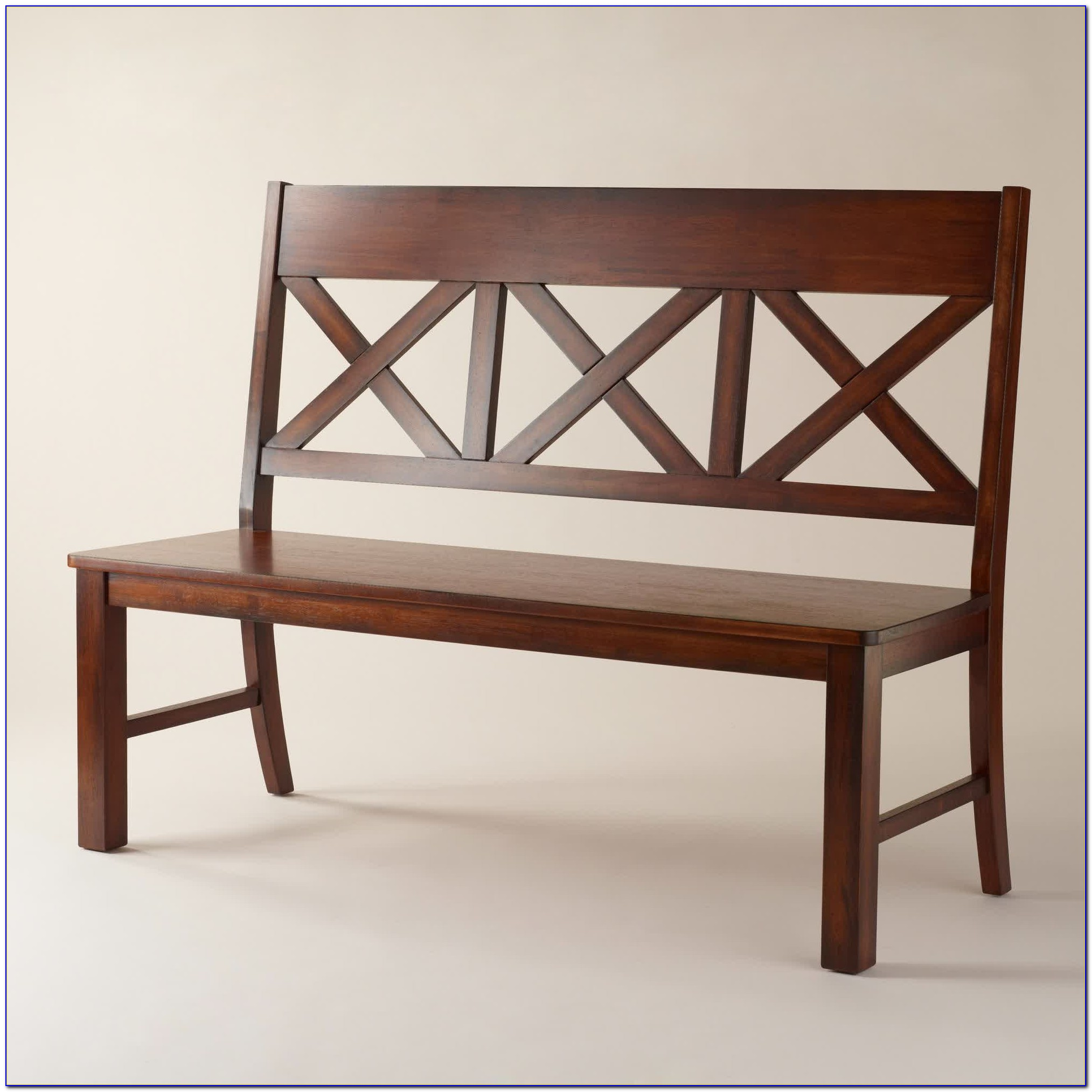 Upholstered Bench With Back For Dining Table
