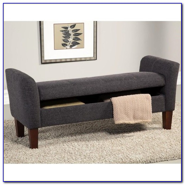 Upholstered Storage Bench With Arms Uk