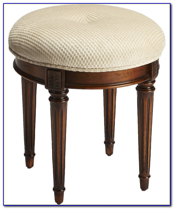 Upholstered Vanity Stools And Benches