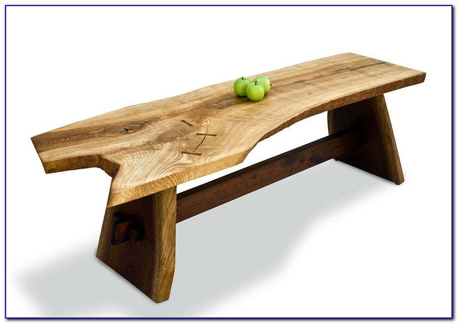 Using Bench As Coffee Table