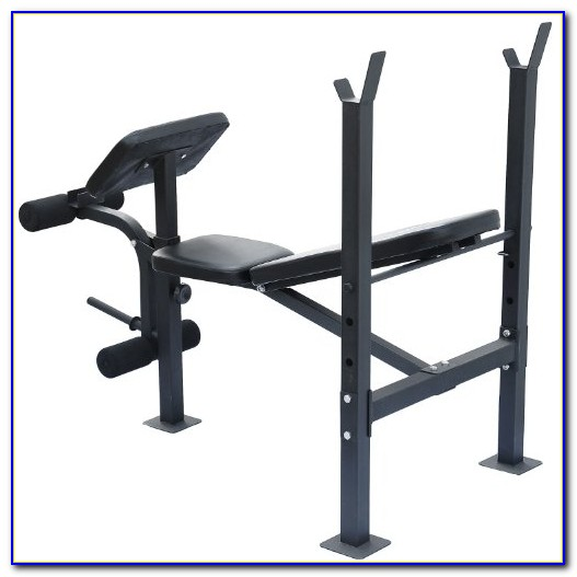 Utility Weight Bench With Leg Extension