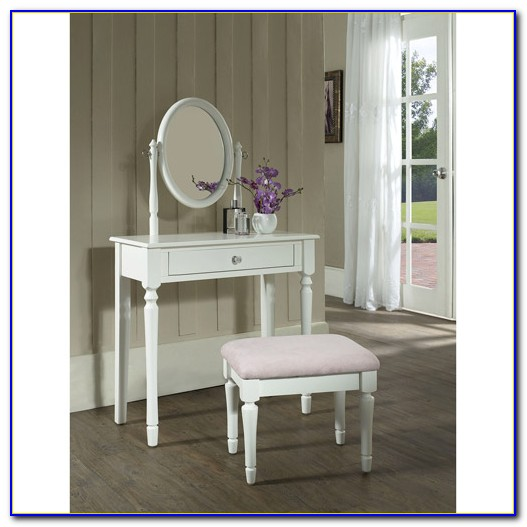 Vanity Sets With Mirror And Bench