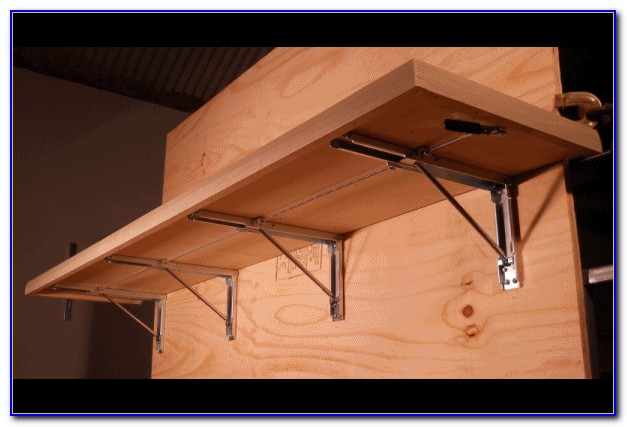 Wall Mounted Folding Bench Brackets (2)