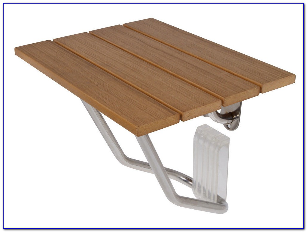 Wall Mounted Folding Bench Seat