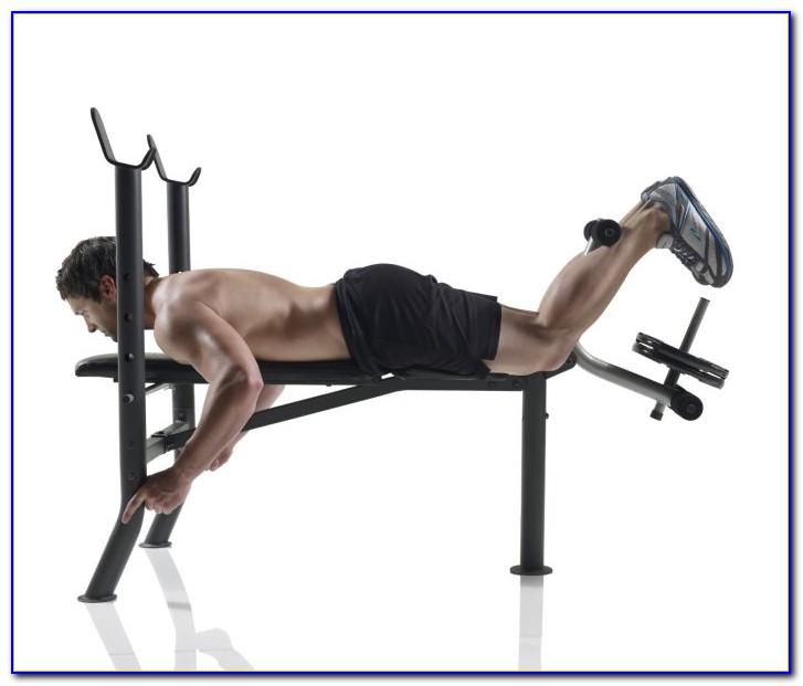 Weider Club Sidekick Weight Bench Set