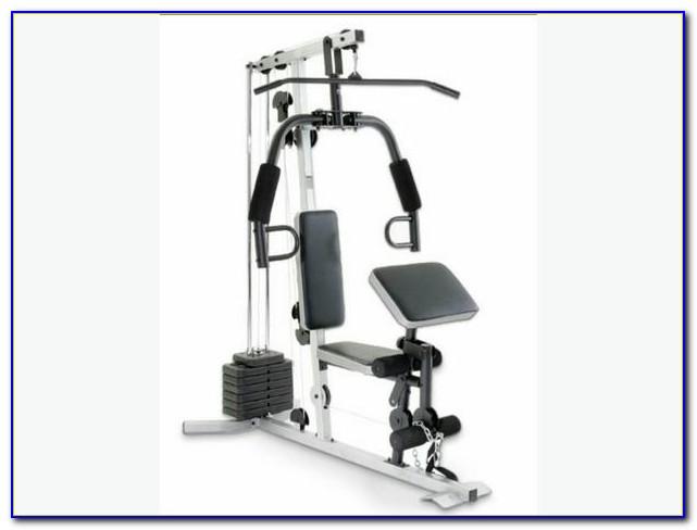 Weider Pro 256 Weight Bench Set