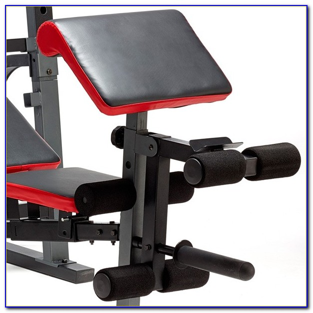 Weider Pro 290 W Bench Weight Set