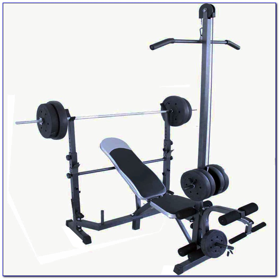 Weight Bench And Dumbbell Set