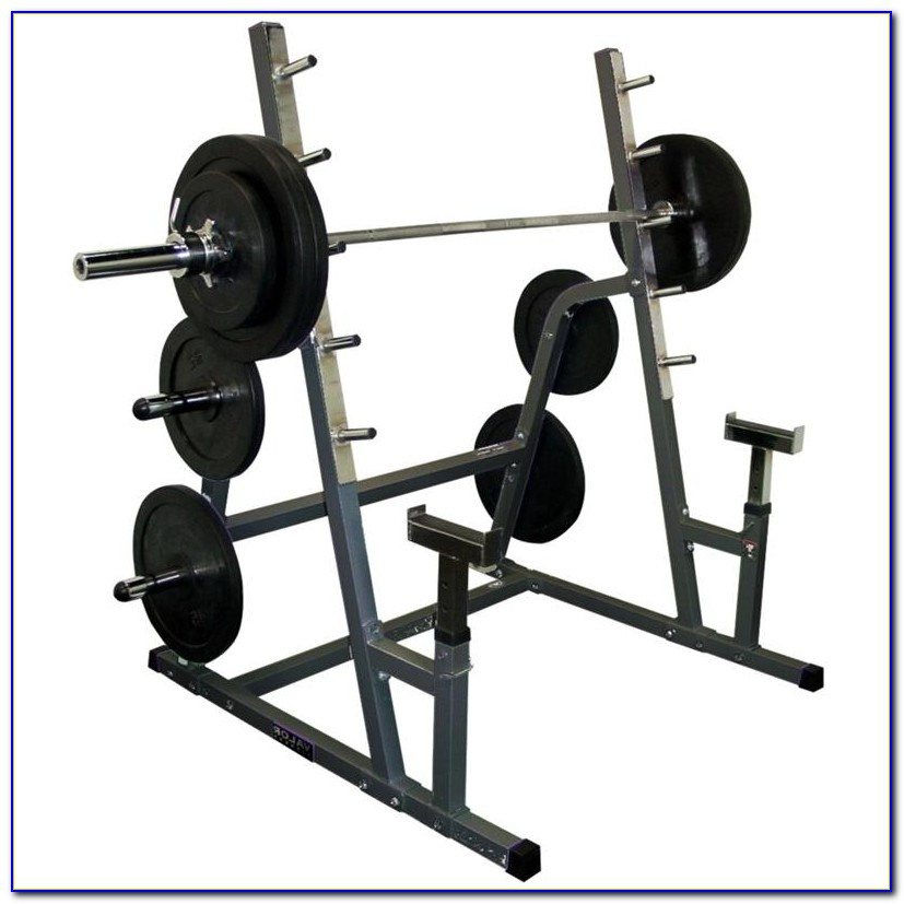 Weight Bench And Squat Rack Combo