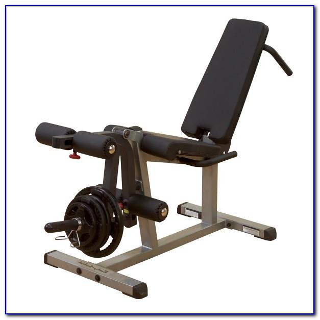 Weight Bench Leg Curl Extension