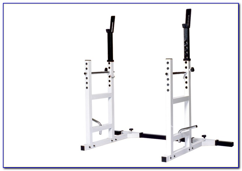 Weight Bench Plus Squat Rack