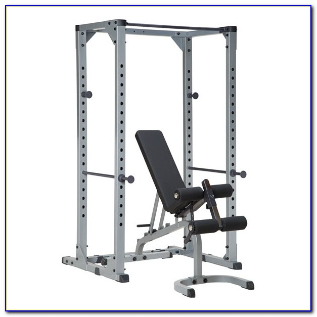 Weight Bench Squat Rack Combo