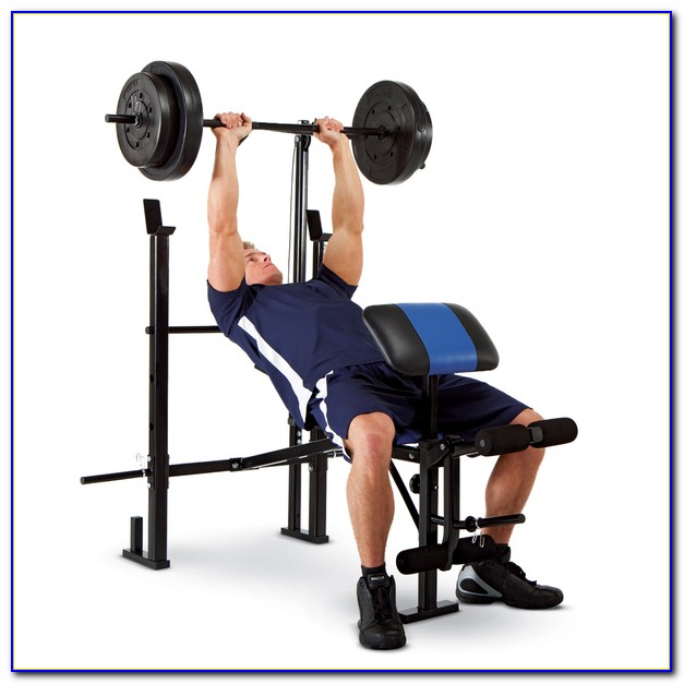 Weight Bench With Lat Pulldown