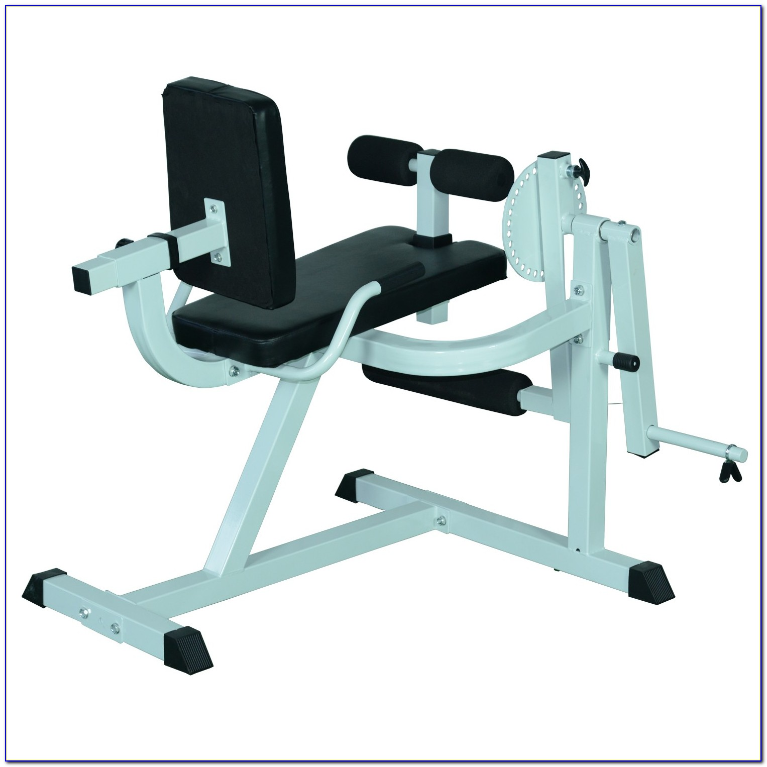 Weight Bench With Leg Extension And Preacher Curl