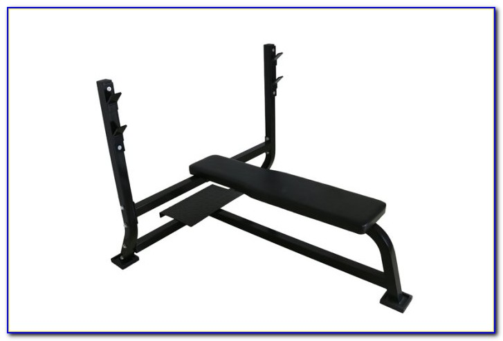 Weight Bench With Safety Spotter