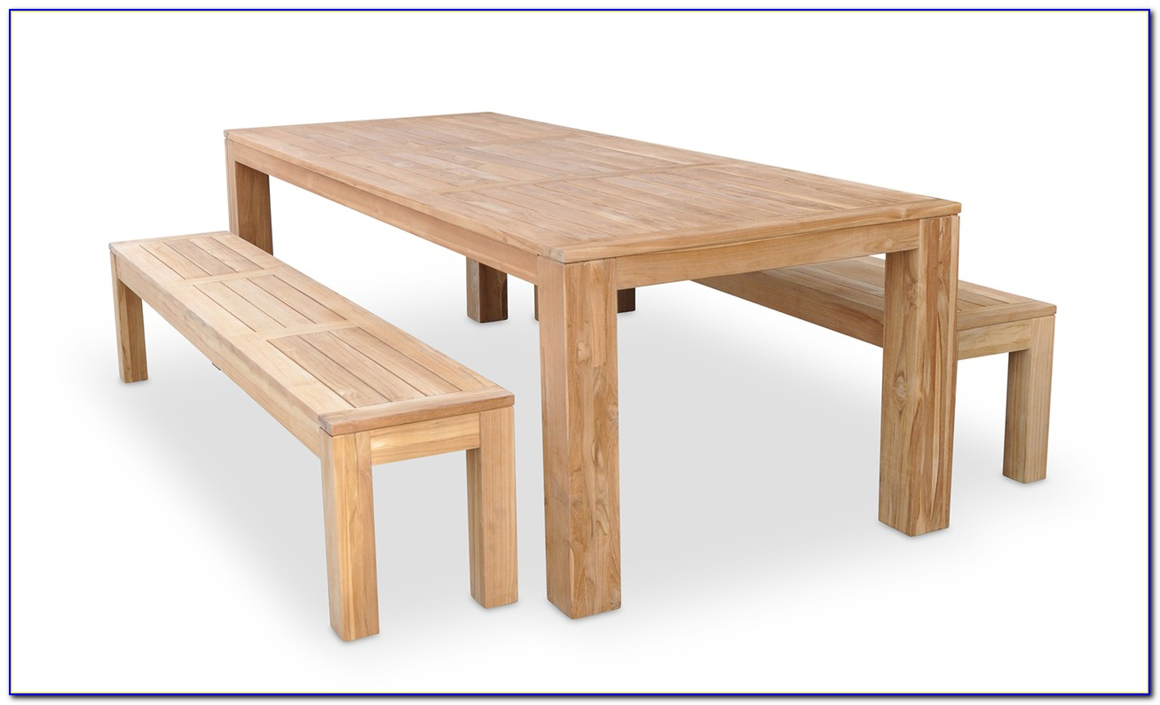 Wood Dining Table Bench Seat