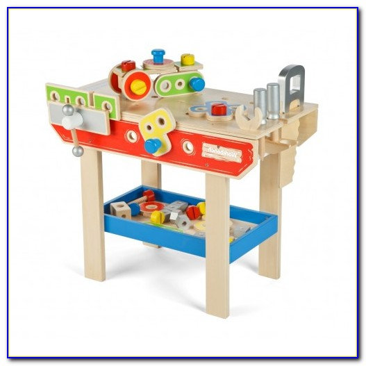 Wooden Toy Tool Bench Australia