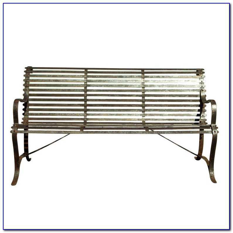Wrought Iron Patio Benches