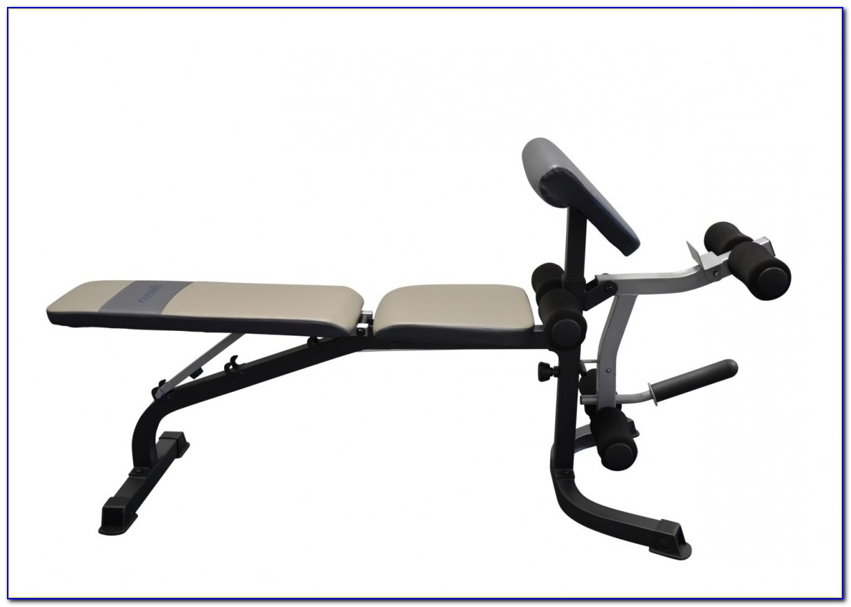 York Weight Bench Squat Rack
