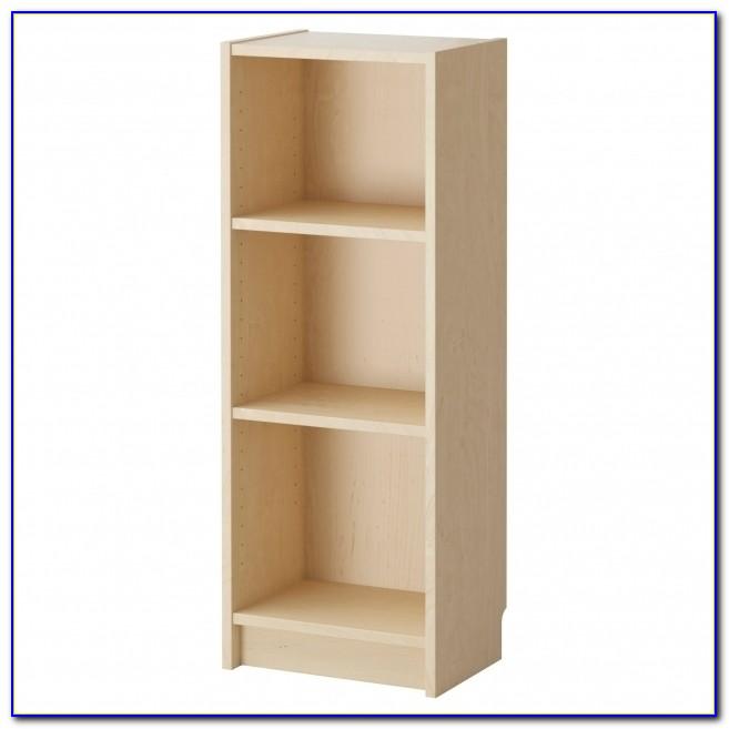 12 Inch Wide Bookcase White