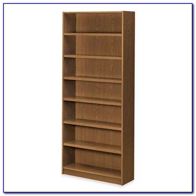 7 Shelf Bookcase White