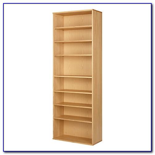 7 Shelf Oak Bookcase