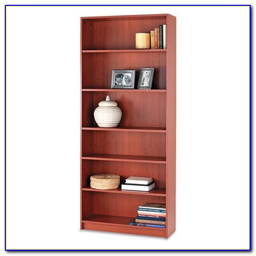 84 Inch Cherry Bookcase