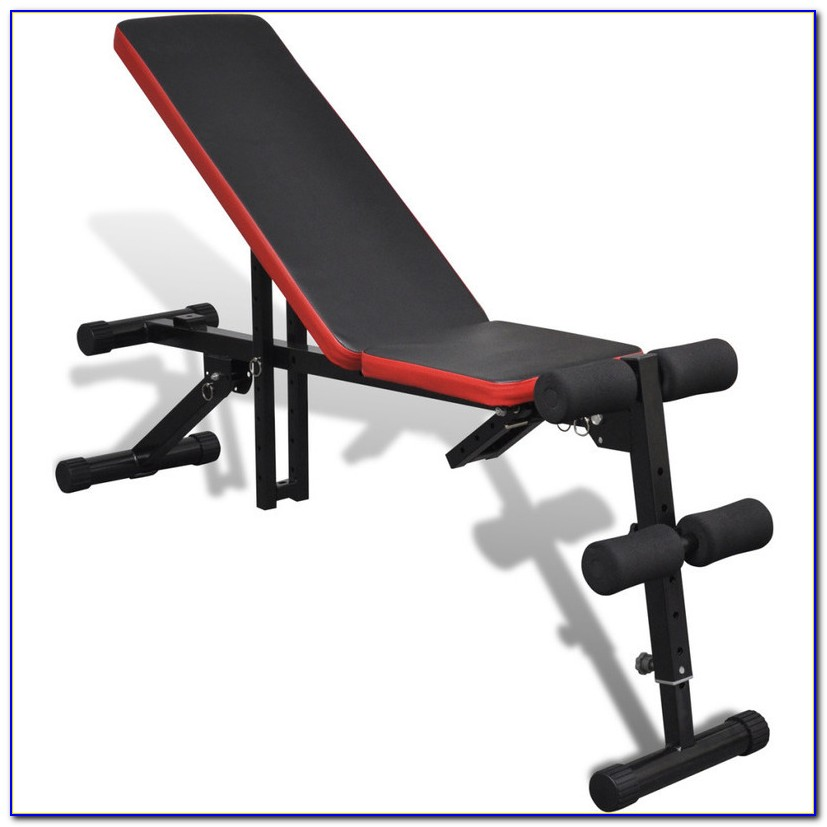 Adjustable Sit Up Weight Bench
