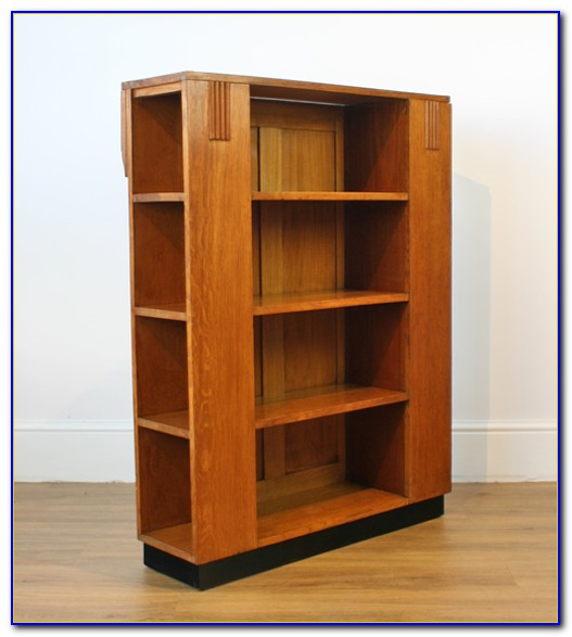 Art Deco Bookcase Design