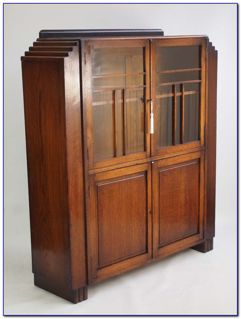 Art Deco Bookcase Ebay