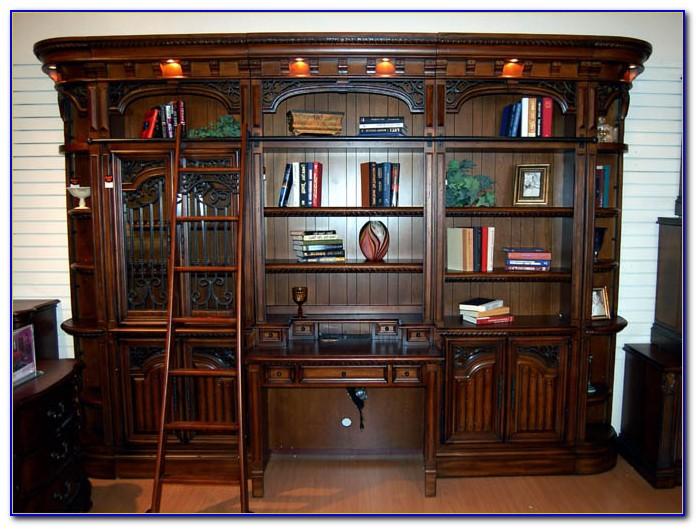Barcelona Library Bookcase Wall Unit