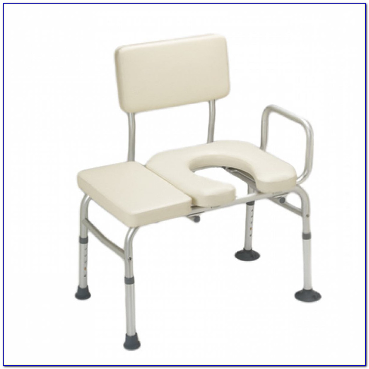 Bariatric Transfer Bench With Commode