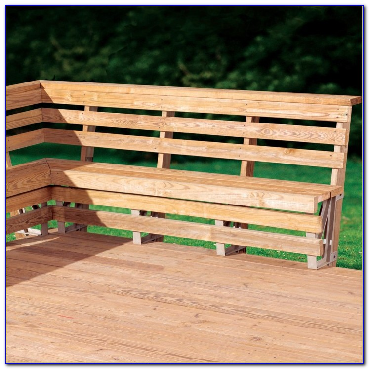 Bench Brackets For Deck Or Dock