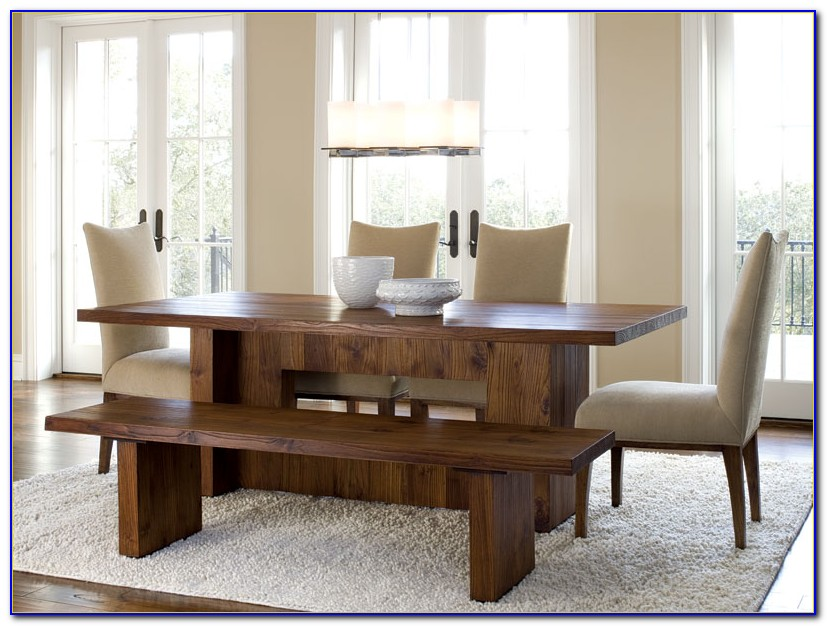 Bench Seat With Back For Dining Room Table