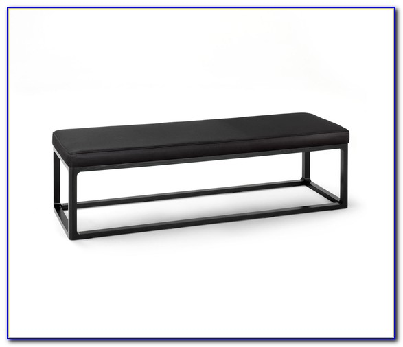Bench With Cushioned Seat