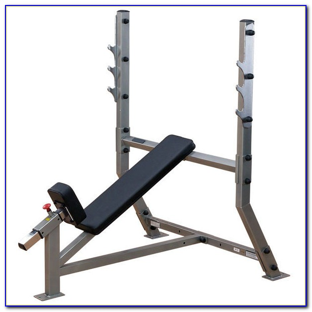 Body Solid Gdib46l Powercenter Olympic Combo Weight Bench