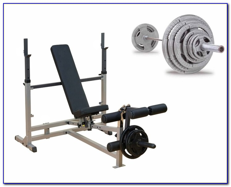Body Solid Olympic Folding Weight Bench