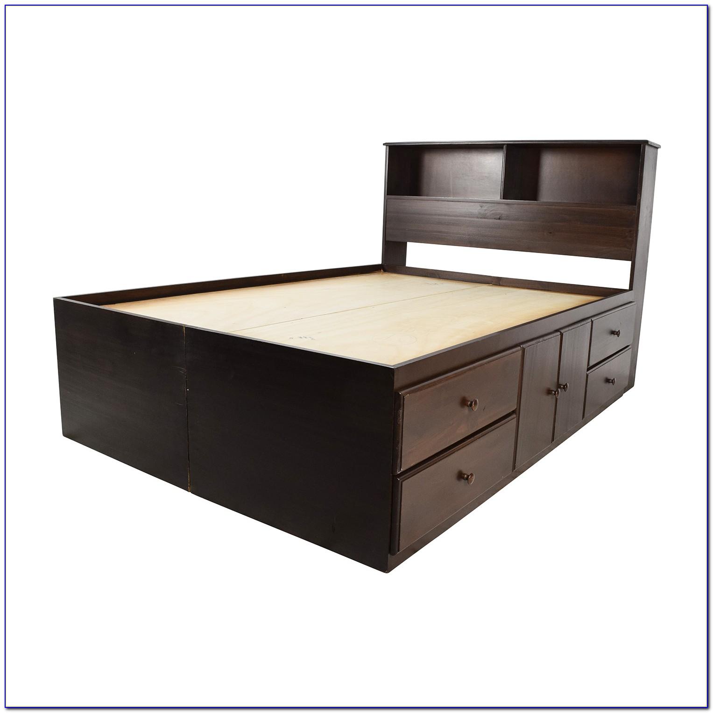 Bookcase Bed Frame Diy