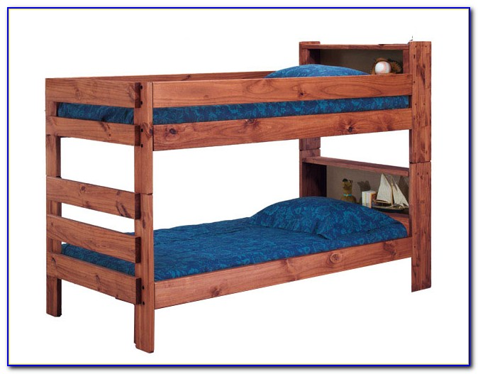 Bookcase Bed Frame Full