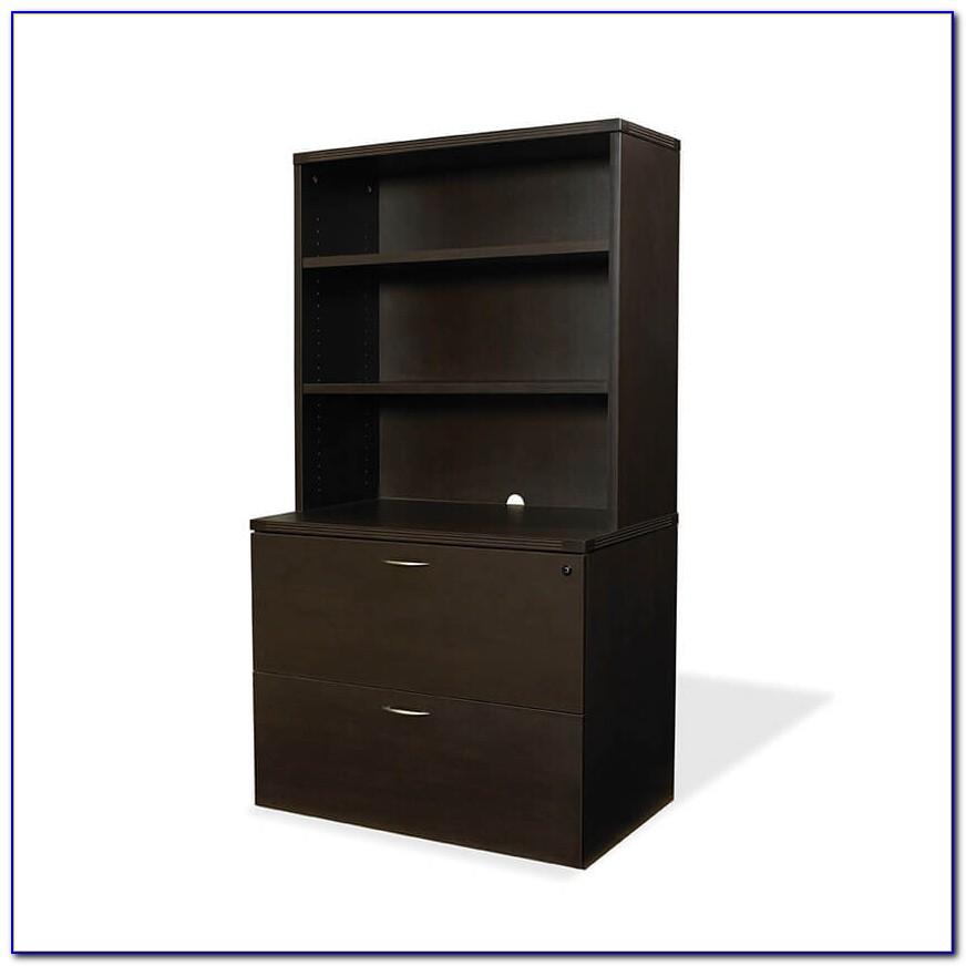 Bookcase File Cabinet Combo