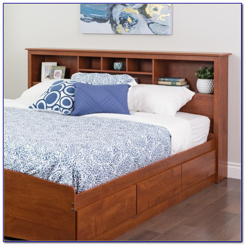 Bookcase Headboard King Size