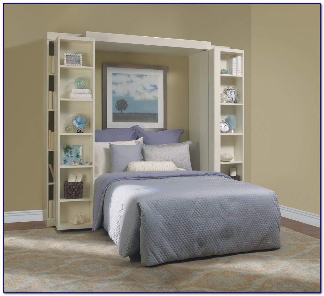 Bookcase Murphy Bed Bi Fold