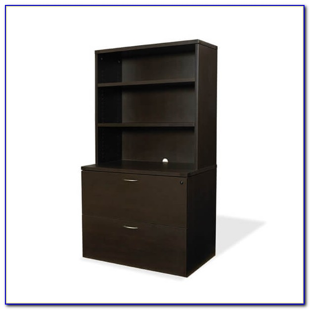 Bookcase With File Cabinet