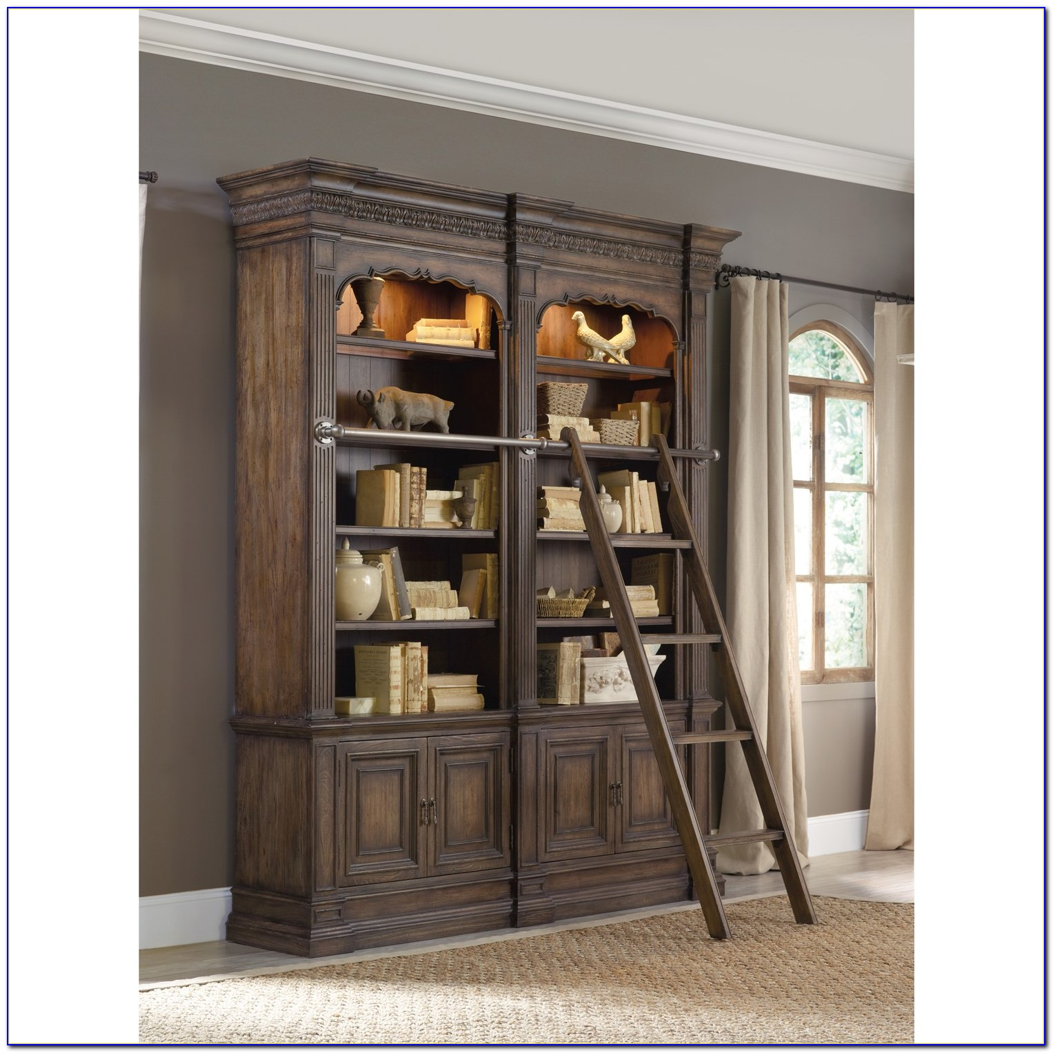 Bookcase With Ladder And Rail Australia