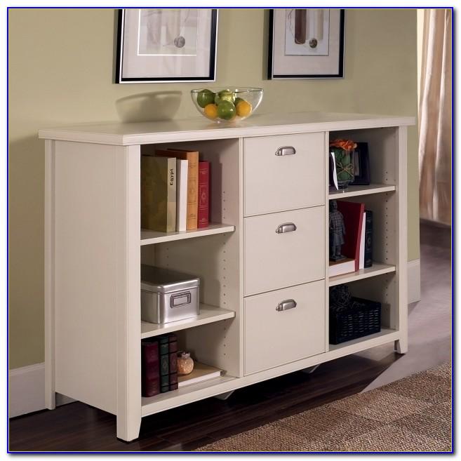 Bookshelf Filing Cabinet Combo