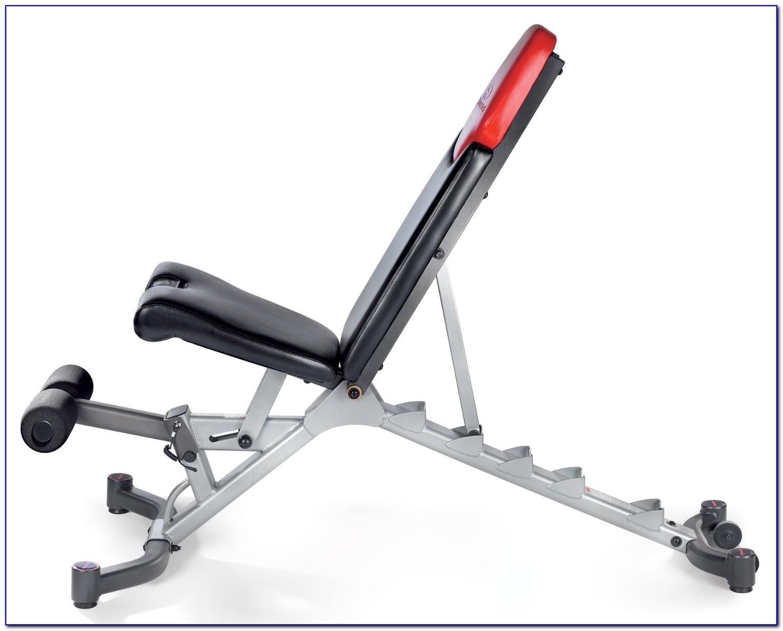 Bowflex 51 Selecttech Dumbbell Bench